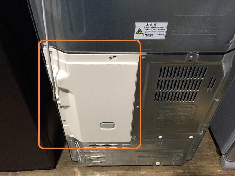 5ドア冷凍冷蔵庫 GR-42ZW の基盤交換方法