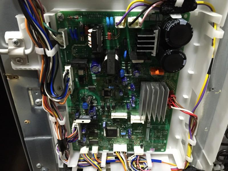 5ドア冷凍冷蔵庫 GR-42ZW の基盤