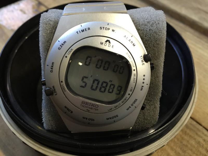 SEIKO スピードマスター(K1520) ジウジアーロ・デザイン 分解 電池交換