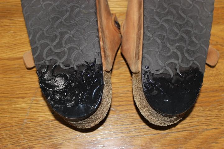 安くて誰でも簡単にできる!!DIY 靴のかかと修理「ビルケン ボストン」