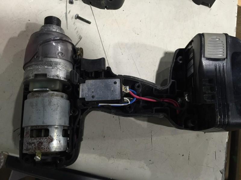 RYOBI インパクトドライバ(BID-1415)分解 異音修理