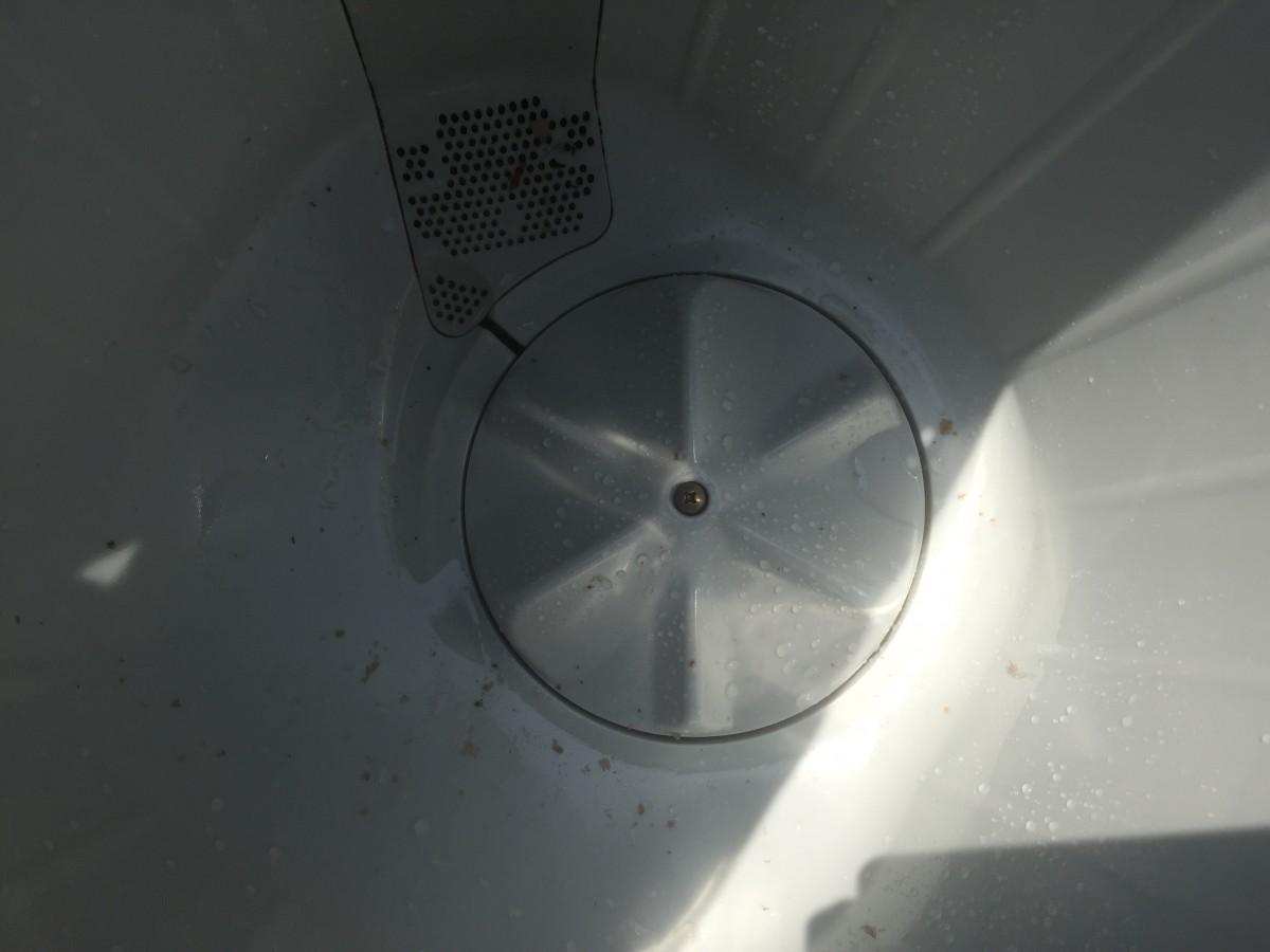 東芝 2槽式洗濯機(VH-30S) 分解清掃方法