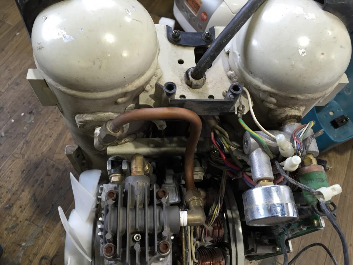【makita】AC4000 エアコンプレッサ エア漏れ 穴の補修修理