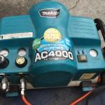 【マキタ】AC4000 エアコンプレッサ エア漏れして動作が止まらない 分解と原因特定