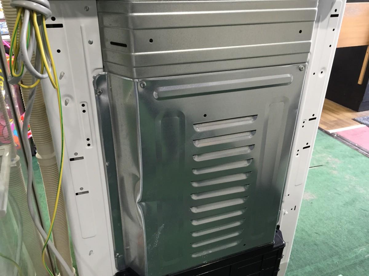 【東芝】洗濯機(AW-70VG) 裏のパネル へこみ修理