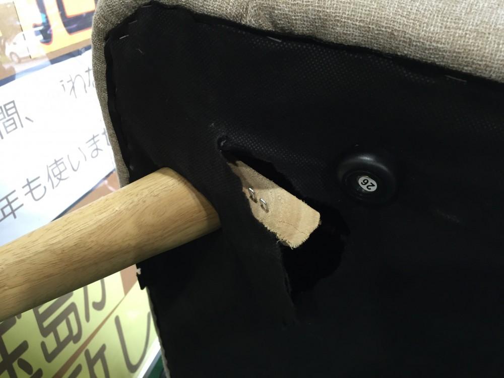 【足が折れた】DIYでソファーを簡単修理