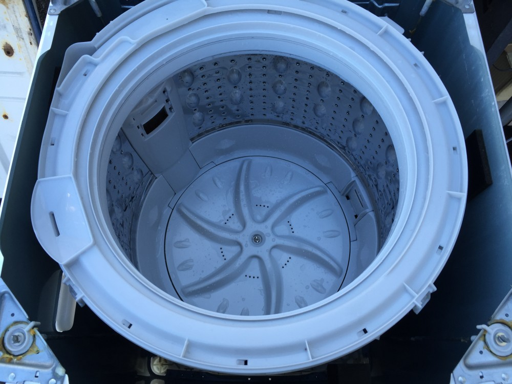 自宅で簡単!!分解、洗濯槽の掃除ができる洗濯機 東芝 AW-60GF