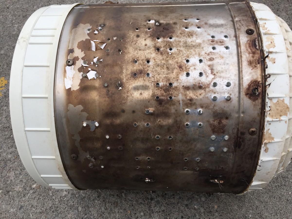 日立 5.0kg洗濯機(NW-5KR)ギヤプーラーの使い方と洗濯槽の取外し