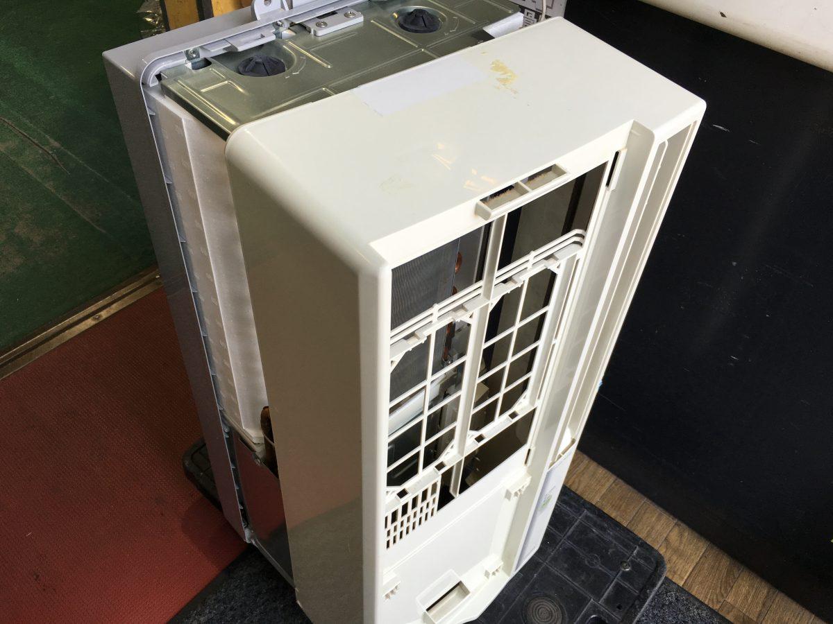 コロナ 窓用エアコンCW-169G 分解して洗浄する方法
