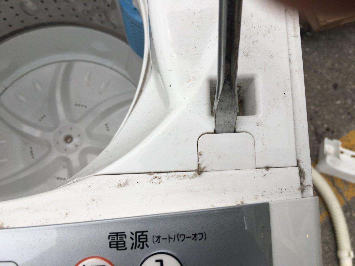 東芝 インバーター付き洗濯機「AW-60SDF」分解と洗濯槽の清掃方法