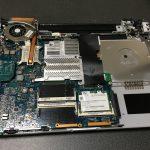 SONY VAIO VGN-FS23B (PCG-7G2N)分解 ハードディスク・ドライブ取り外し方法