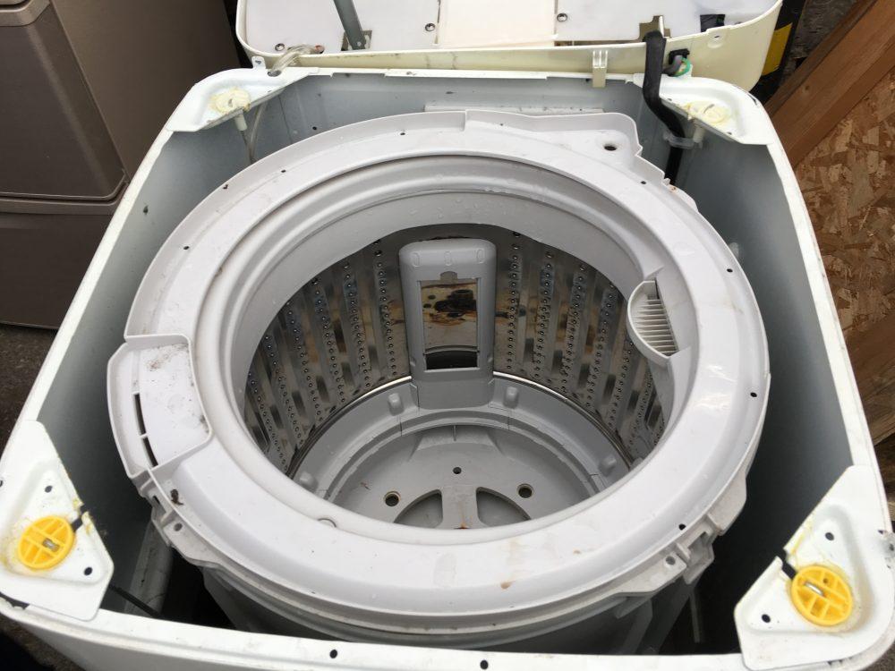 ハイアール5kg洗濯機(JW-K50)の分解と掃除の方法