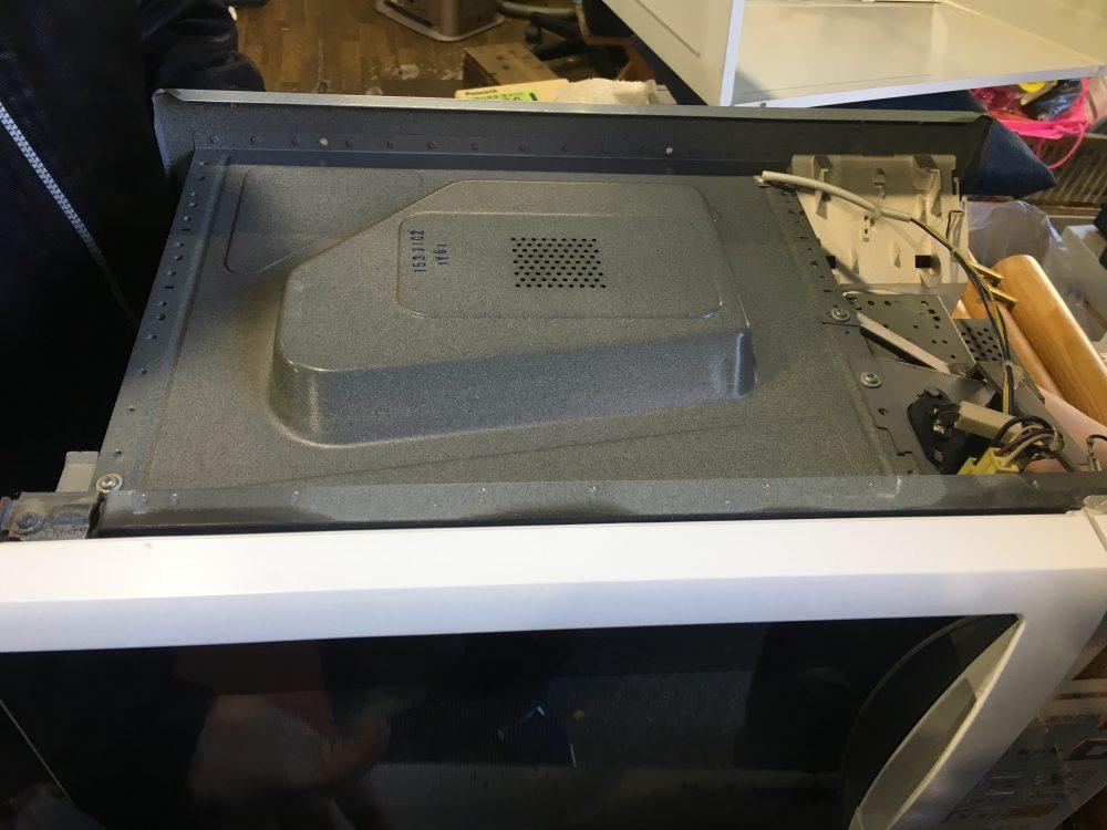 (オーブン)電子レンジが動かない、電源が入らないのでヒューズ交換してみた