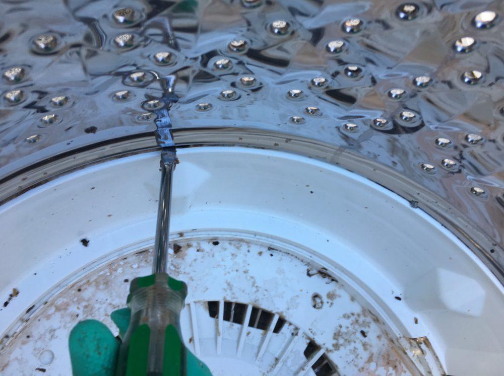 柔軟剤のカビ汚れがやばい!!東芝6kg洗濯機(AW-60GK)の分解と洗濯槽の掃除