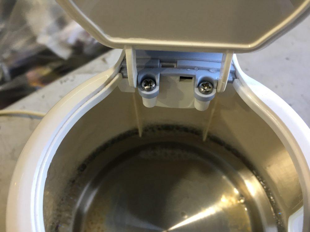 【T-fal 電気ケトルの修理】スイッチが壊れたので分解してみた