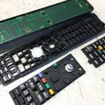 三菱 ブルーレイ付き テレビのリモコン(RL18501)分解方法の解説