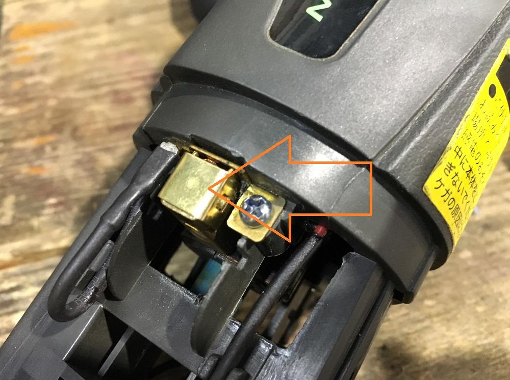 【DUALSAW デュアルソーダブルカッター CS450 分解修理】症状:動かない