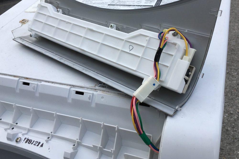 シャープ ドラム洗濯機(ES-HG92G)分解と洗濯槽の掃除に挑戦
