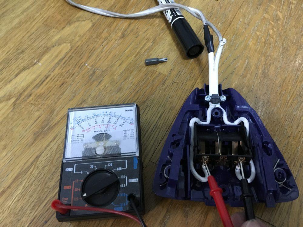 ティファールのアイロンの電源が入らなくなった原因は?分解と修理をしてみた!FV7020J0