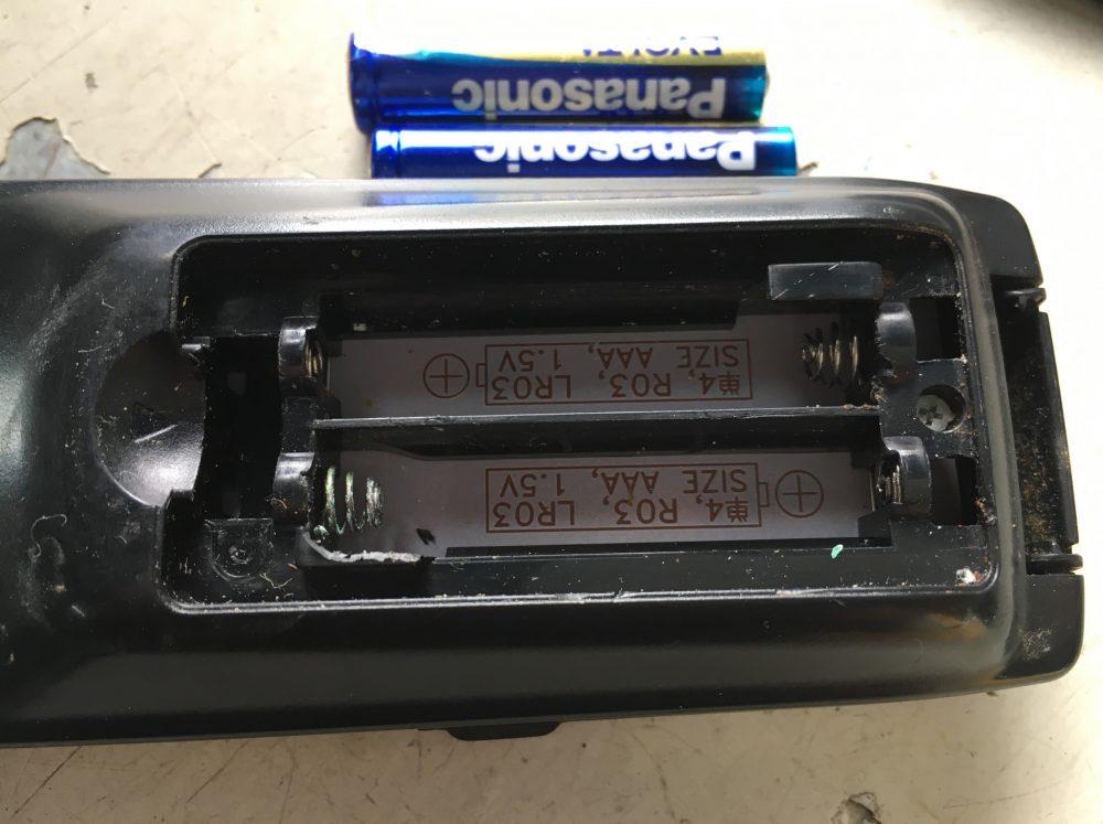 SHARP シャープ 液晶テレビ用 リモコン GA952WJSAの分解『適用機種:LC-16K5など』