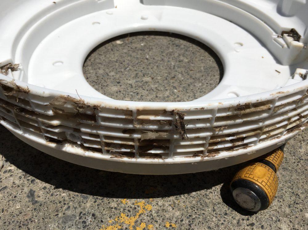 【洗濯槽の外し方】東芝の縦型洗濯機9kg(AW-9SD3M)の分解と掃除