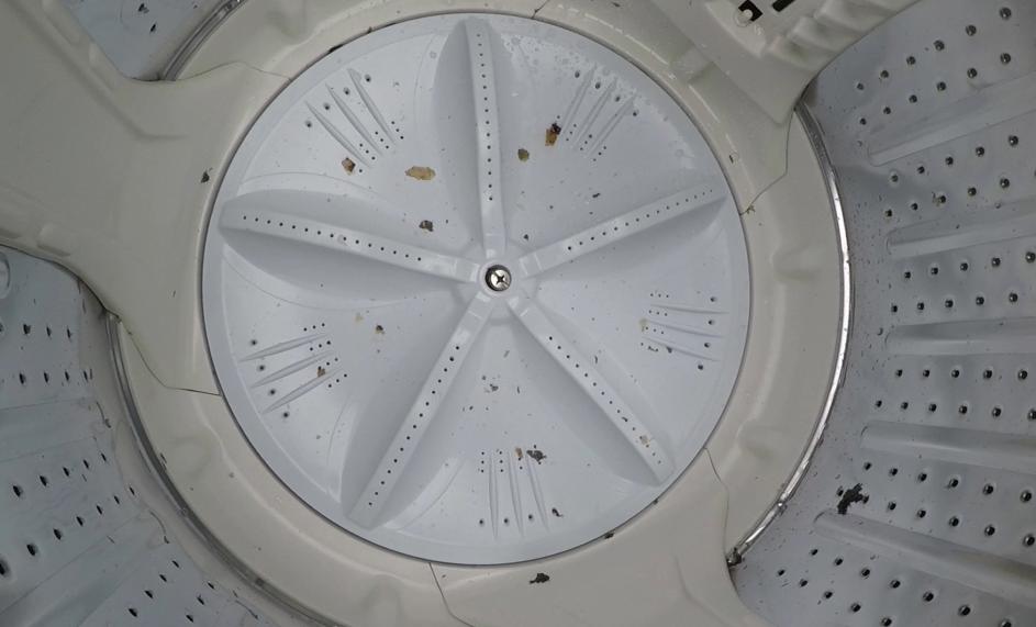 アクア7.0kg縦型洗濯機( AQW-KS60 )の分解、洗濯槽の取り外しと掃除