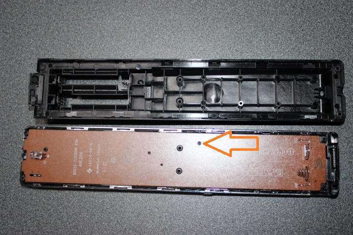 シャープ ブルーレイレコーダー(ga908pa)リモコンの分解と修理『症状:効きが悪い』