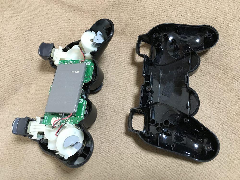 PS3のコントローラーが、勝手に動くので分解と修理をしてみた!