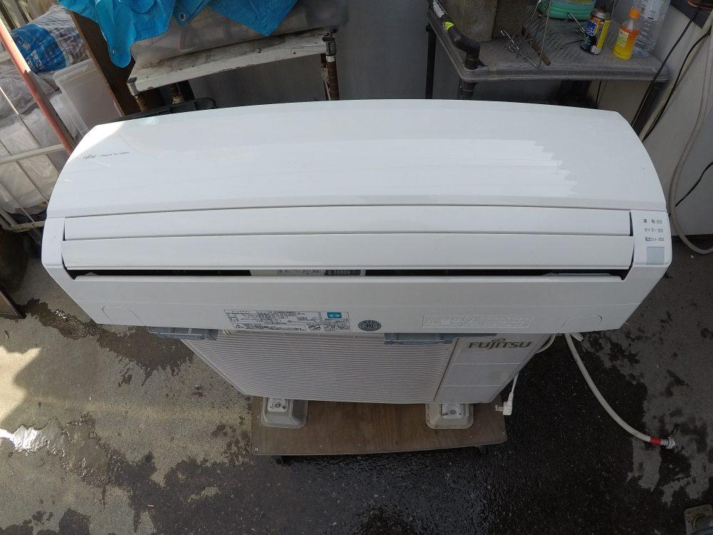 【富士通 エアコンAS-J25B】動作の点検から「分解・洗浄」のやり方