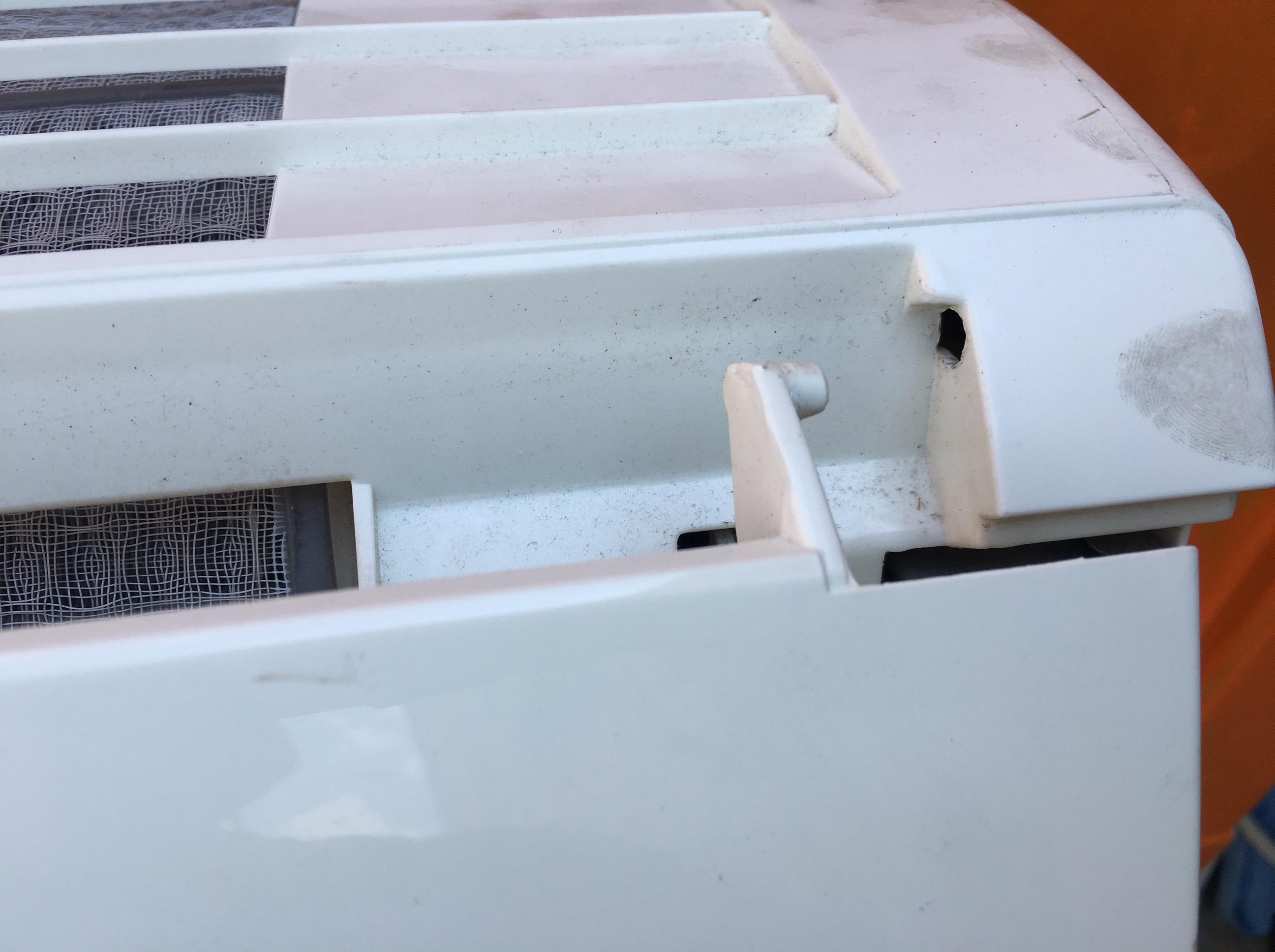 日立 エアコン 白くまくん(RAS-R22B)分解・洗浄・クリーニングのやり方