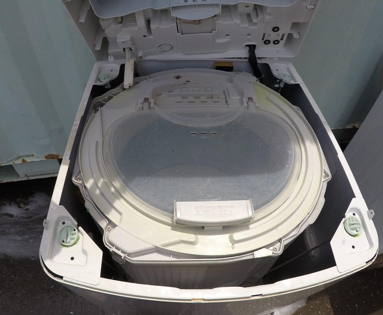 パナソニック8.0kg洗濯機(NA-FS80H5)自分で分解 掃除