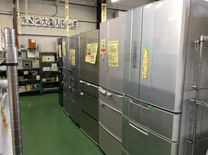 中古の冷蔵庫の注意点は?リサイクルショップ店員が教えます!