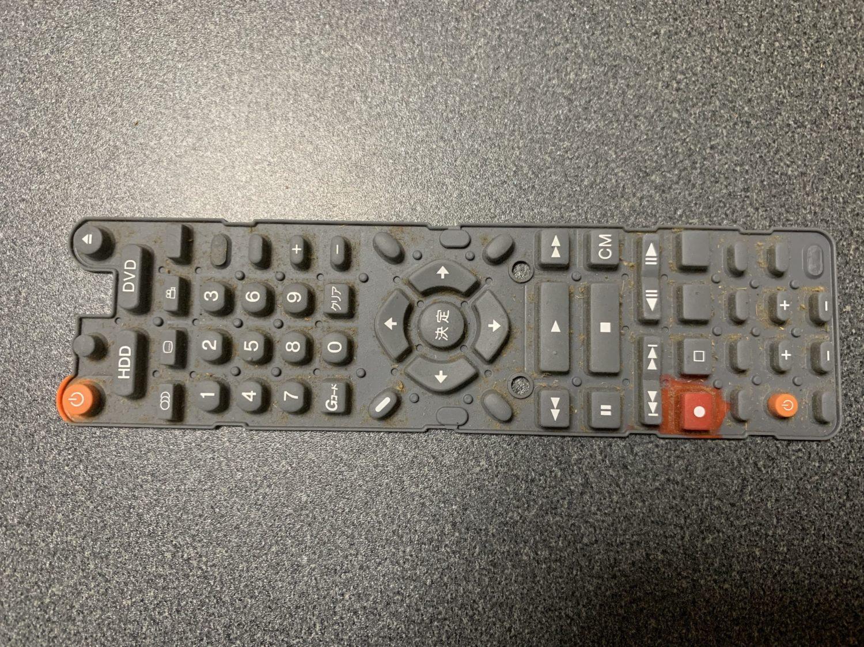 【パイオニア DVDレコーダー リモコン 分解修理】掃除だけで効きがよくなる場合もあり!