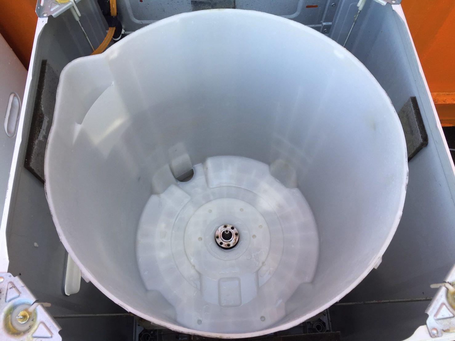東芝5.0kg洗濯機の(AW-BK5GM)分解とクリーニング方法