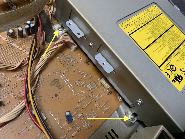 東芝DVDレコーダー(RD-E301)HDD・ドライブ 分解と修理方法