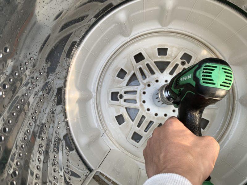 パナソニック7kg洗濯機「NA-F70PB7」分解掃除の方法
