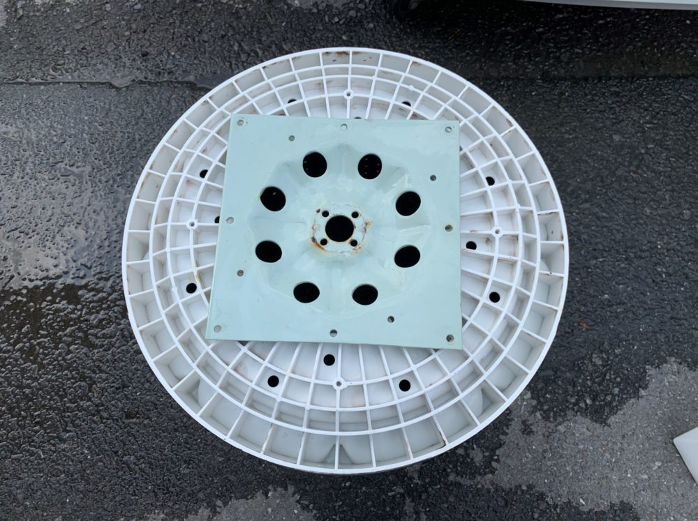 ヤマダ電機オリジナル洗濯機  YWM-T45A1 分解掃除の方法