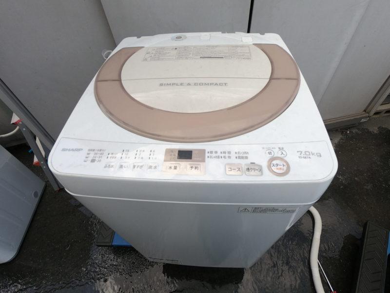 【洗濯槽のクーリング】シャープ7kg洗濯機 ES-GE7A 分解方法