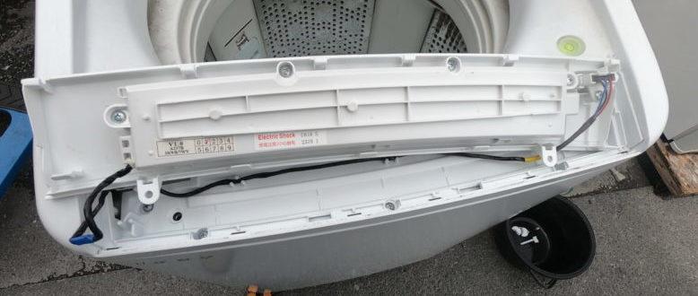 日立 ビートウォッシュ BW-7WV 分解掃除の方法【洗濯機】