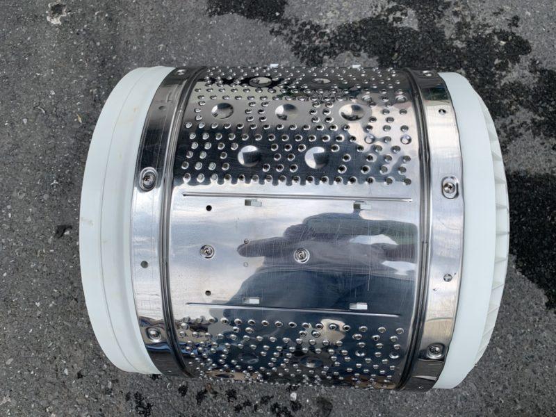 日立 洗濯機 7kgビートウォッシュ「BW-7SV」の分解方法