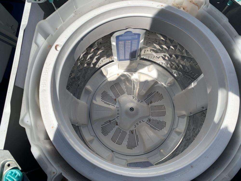【槽洗浄】パナソニックNA-FA80H6 洗濯機 分解と掃除の方法