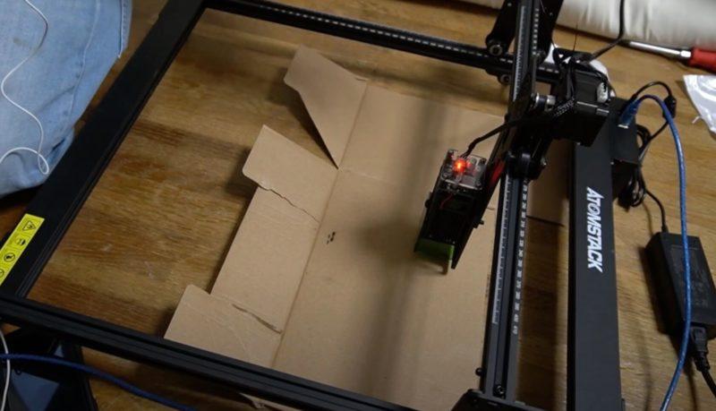 ATOMSTACK A5 20W 家庭用レーザー彫刻機 レビュー