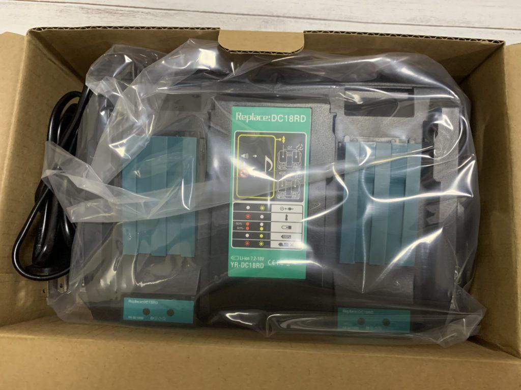マキタ 互換性 充電器と18Vバッテリー レビュー